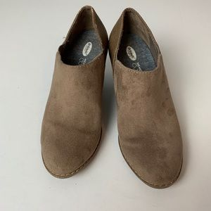 Dr. Scholl's | Tan Suede Cool Fit Booties
